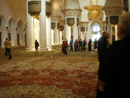 Schejk Zayed-moskén: Interior of the Great Mosque