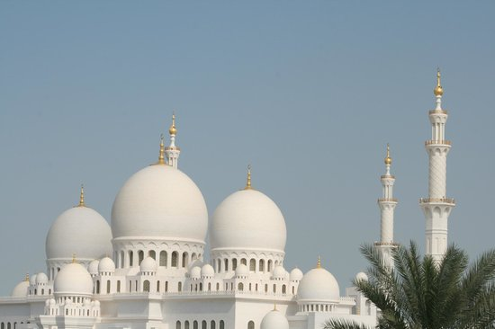 Schejk Zayed-moskén: The domes of the Great Mosque