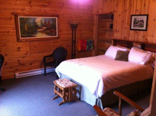 Lake Lauzon Resort & Marine: Large ensuite Bed and Breakfast room
