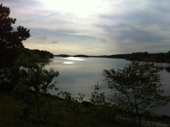Lake Lauzon Resort & Marine: View of Lake Lauzon