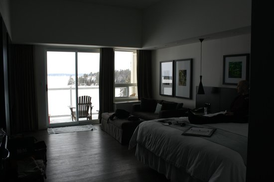 Taboo Muskoka Resort:                   Our room #431