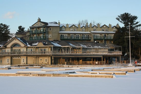 Taboo Muskoka Resort:                   Taboo Resort from the lake