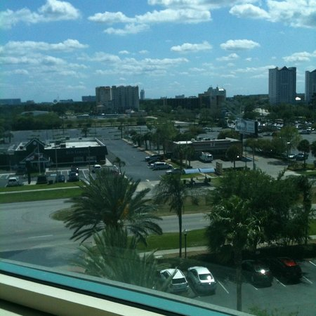 Four Points by Sheraton Orlando Studio City Hotel:                   view from my window