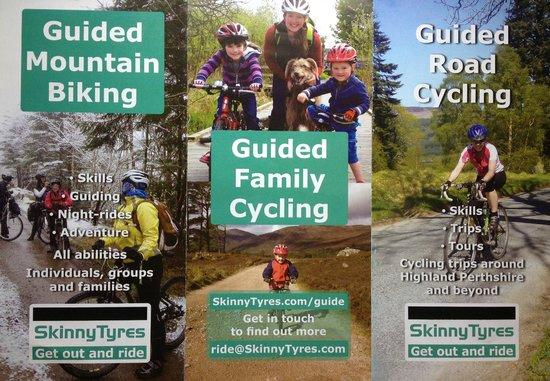 Guided Cycle Rides with Skinny Tyres