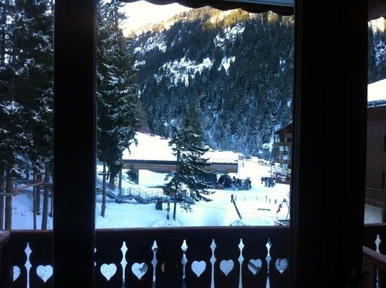 Hotel Club Marmara :                   vue de la. chambre 406/405