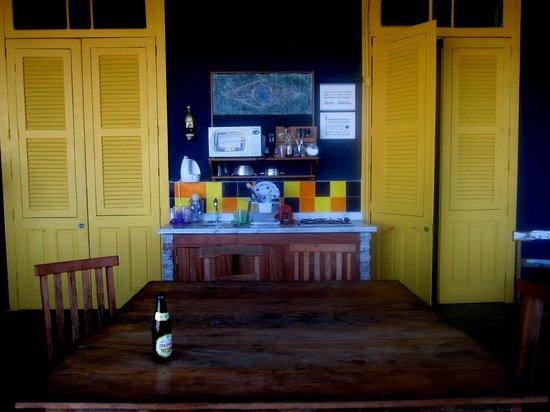 Terra Brasilis Hostel:                                     terrace..