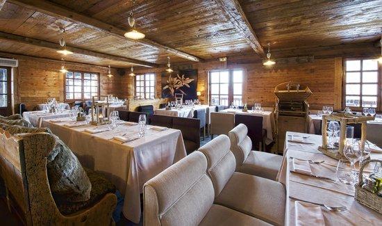 Int Rieur Restaurant Photo De Le Chalet Des Praz La