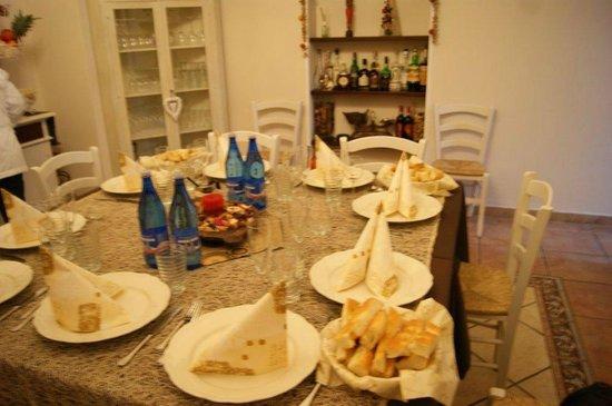 La Viareggina:                   sala colazione