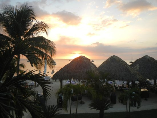 Sandals Negril Beach Resort & Spa:                   sunset