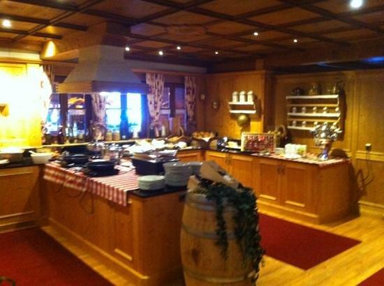 Sporthotel Cristall: zona ristorante