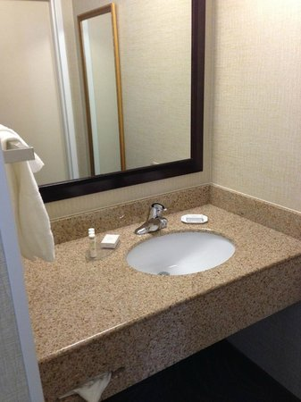 SpringHill Suites State College:                   Bathroom sink