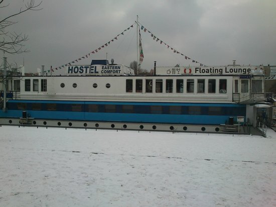 Eastern Comfort Hostelboat:                   the boat