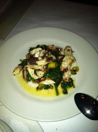 The Brass Rail - Locust Valley:                   grilled octopus