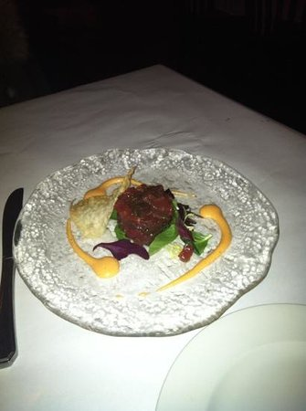 The Brass Rail - Locust Valley:                   tuna tartar