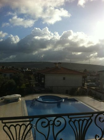 Imren Han Hotel & Mansions:                   Bahceden havuz