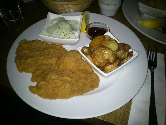 Restaurant RioGrande:                   schnitzel