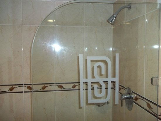 Hotel San Diego:                   shower