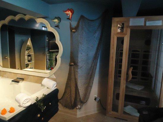 Auberge aux Nuits de Reve:                   Neptune & Vénus : Sauna