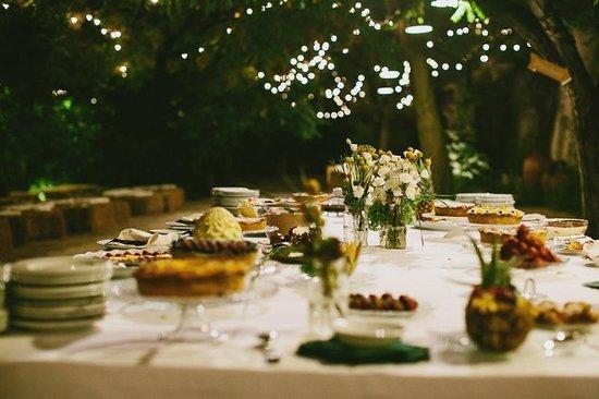 Masseria Barbera :                   buffet wedding
