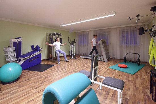 Appartementhaus Absmeier: Fitnessraum