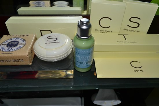 Royal Plaza on Scotts:                   L'occitane en Provence Amenities!