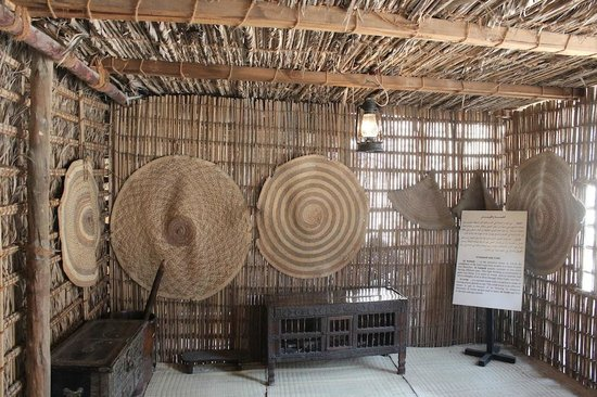 Museo di Dubai: An old Dubai house interior