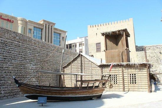 Μουσείο του Ντουμπάι: Main courtyard, Dubai Museum