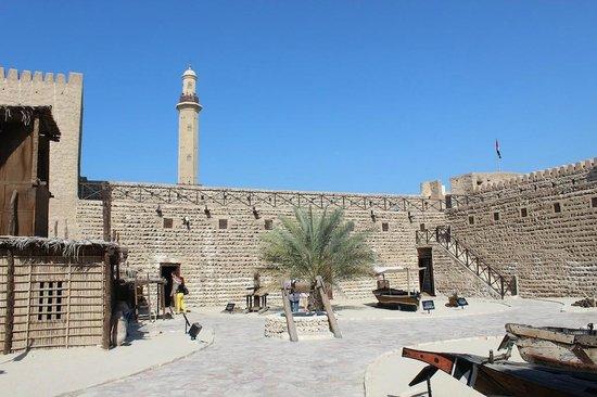 Muzeum Dubajskie: Main courtyard, Dubai Museum