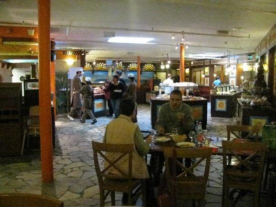 Center Parcs les Hauts de Bruyeres:                   un des restaurants