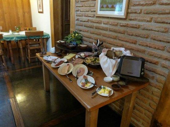 Landhaus San Sebastian:                   Frühstücksbuffet
