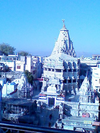 OYO Rooms Jagdish Chowk:                   view of jagadish temple from roof top