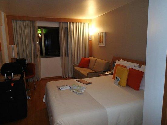 Hotel Novotel Rio De Janeiro Santos Dumont:                   Bed / Sofa