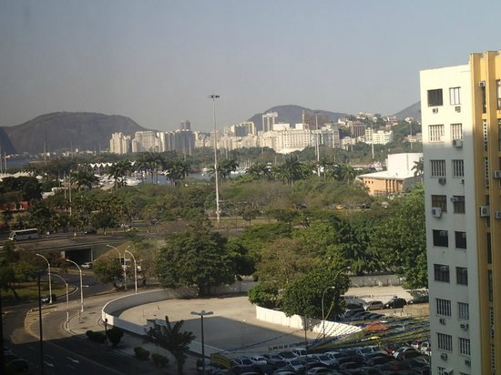 Novotel RJ Santos Dumont:                   View from room 770