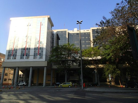 Novotel RJ Santos Dumont:                   Outside of hotel