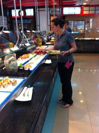 Shinju Japanese buffet: Sushi Buffet
