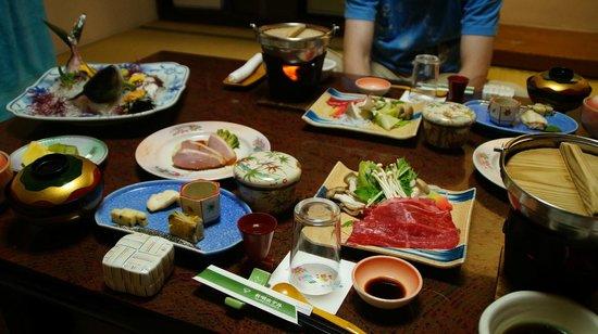 Yumei Hotel: repas du soir