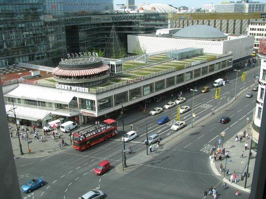 Swissotel Berlin:                   Zimmeraussicht
