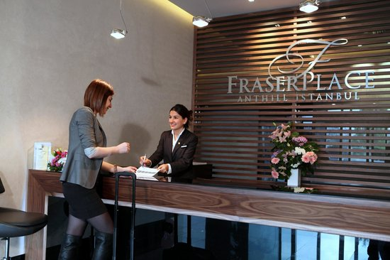 ‪‪Fraser Place Anthill Istanbul‬: Reception‬