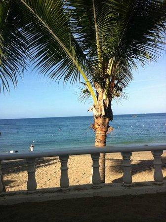 The Tropical at Lifestyle Holidays Vacation Resort:                   View from our beach bed
