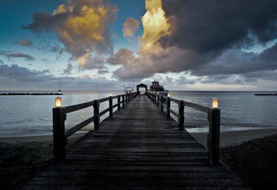 Charlestown, Nevis:                   Pier