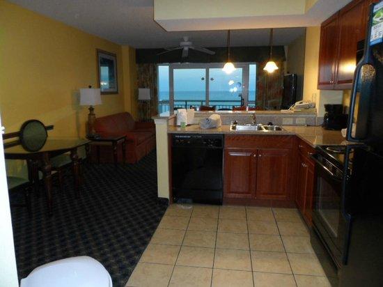 Dunes Village Resort:                   Kitchen Queen Suite