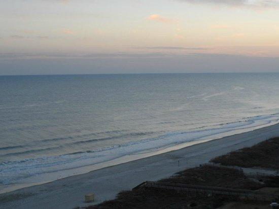 Dunes Village Resort:                   Sunset 12th Floor