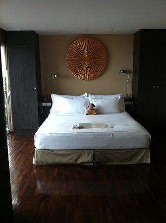 Mantra Samui Resort:                   lit chambre cosy