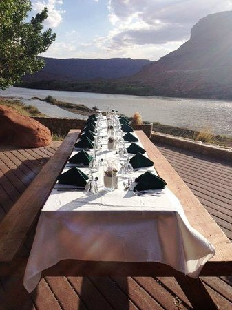 Sorrel River Ranch Resort and Spa: River Dining