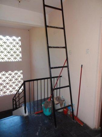 So My Resort:                                     Ladder access outside E6
