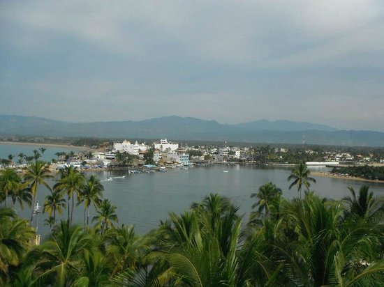 Grand Isla Navidad Resort:                                     View of Barra from the Hotel