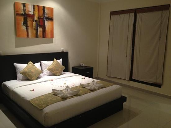 Bali Ayu Hotel:                                     my sack