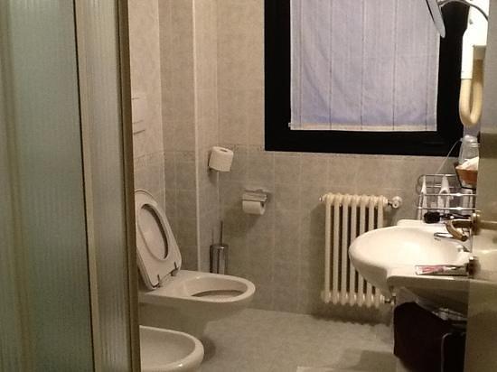 Leonardo da Vinci Hotel Erba : bagno