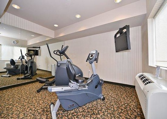 ‪‪Quality Inn and Suites, Sequim‬: Fitness Room‬
