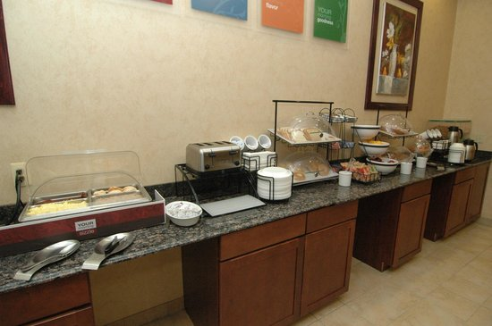 Quality Inn & Suites Coldwater:                                     Hot Breakfast
